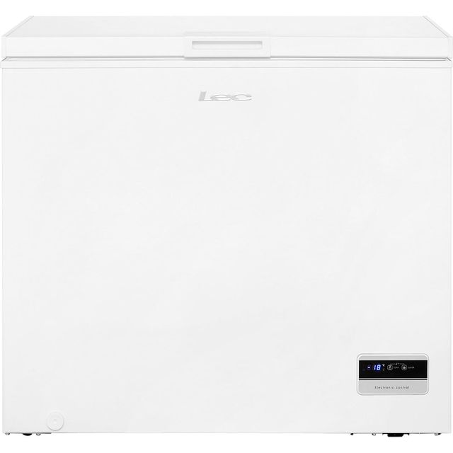 Lec CF200LMk2 Chest Freezer - White - A+ Rated Best Price, Cheapest Prices