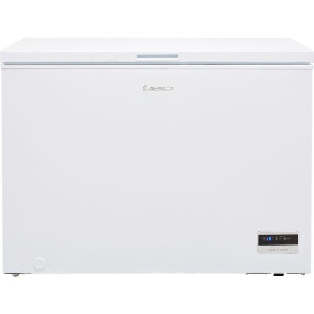 Lec CF300LMk2 Chest Freezer - White - F Rated
