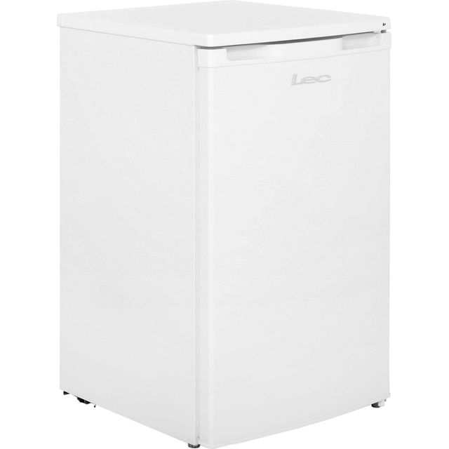 Lec R5010W Fridge with Ice Box - White - A+ Rated