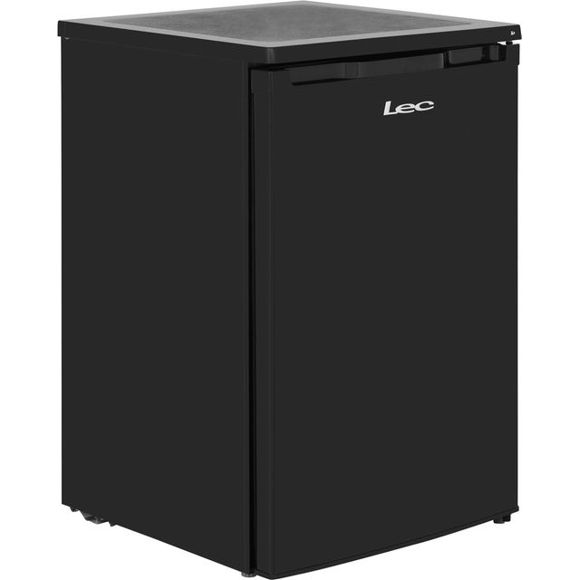 Lec R5511B.1 Fridge with Ice Box - Black - F Rated