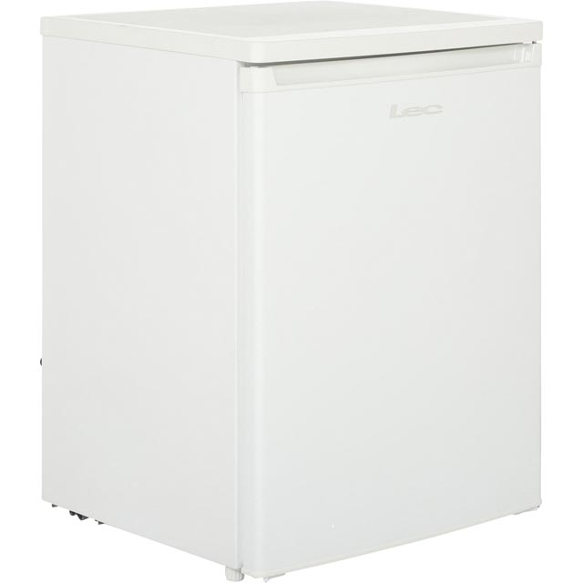 Lec R6014W Fridge with Ice Box - White - A+ Rated