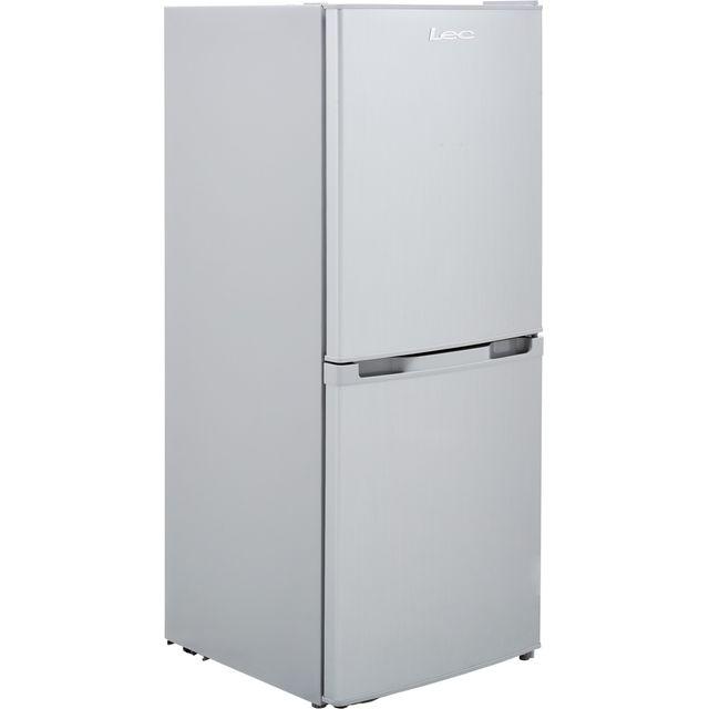 LEC T5039S Fridge Freezer - Silver