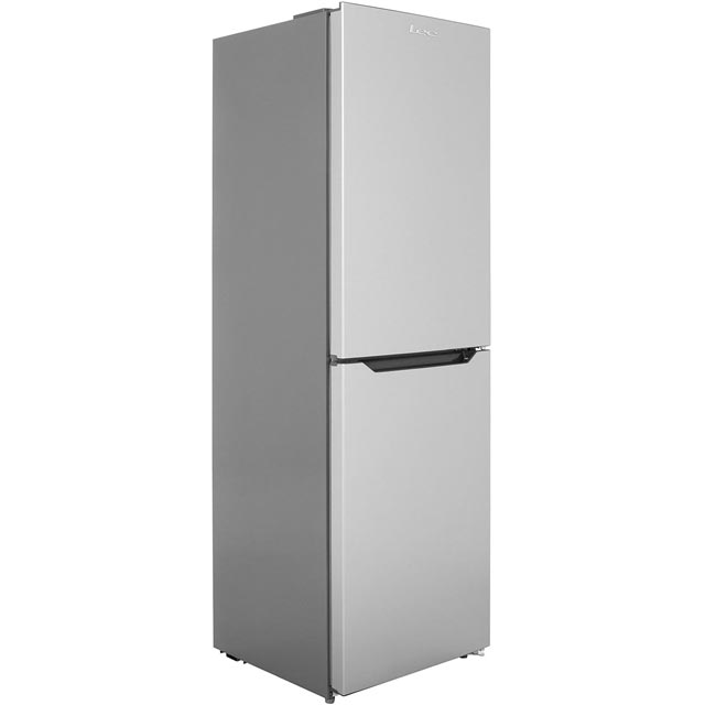 Lec TNF60187S 50/50 Frost Free Fridge Freezer - Silver - A+ Rated