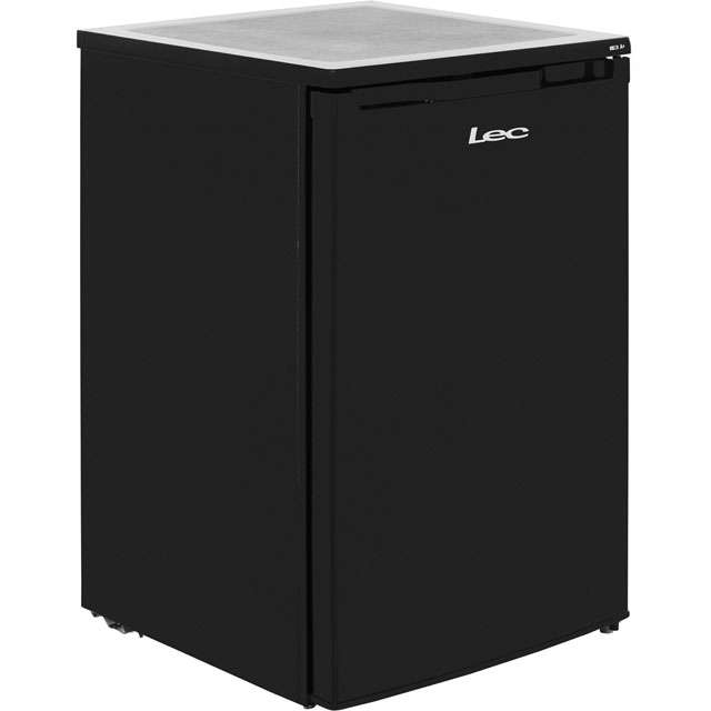 Lec U5511B.1 Under Counter Freezer - Black - A+ Rated - U5511B.1_BK - 1