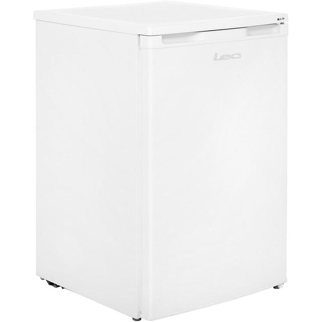 Lec U5511W.1 Under Counter Freezer - White - A+ Rated - U5511W.1_WH - 1