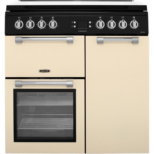 Leisure Chefmaster CC90F531C Dual Fuel Range Cooker - Cream - CC90F531C_CR - 1