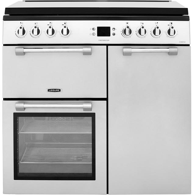 Leisure Chefmaster CC90F531S Free Standing Range Cooker in Silver