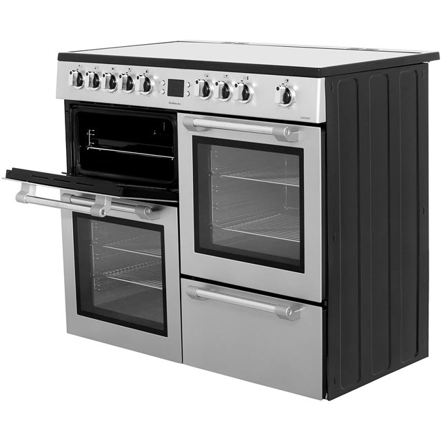 Leisure CK100C210C Cookmaster 100cm Electric Range Cooker - Cream - CK100C210C_CR - 2
