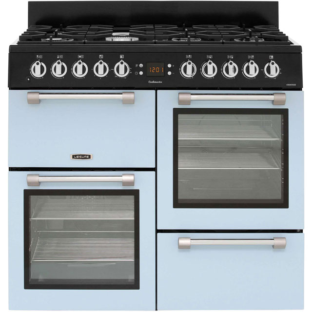 Leisure Cookmaster 100 CK100F232B 100cm Dual Fuel Range Cooker - Blue - A/A Rated - CK100F232B_BL - 1