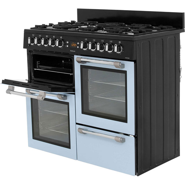 Leisure CK100F232S Cookmaster 100 100cm Dual Fuel Range Cooker - Silver - CK100F232S_SI - 2