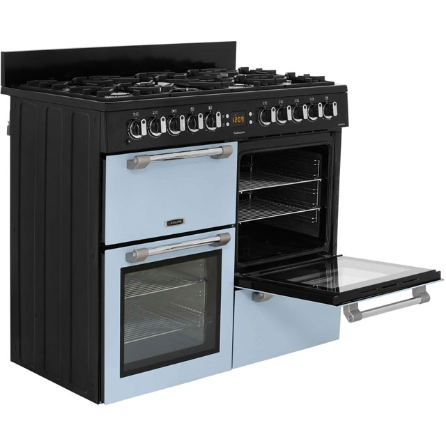 Leisure CK100F232S Cookmaster 100 100cm Dual Fuel Range Cooker - Silver - CK100F232S_SI - 4