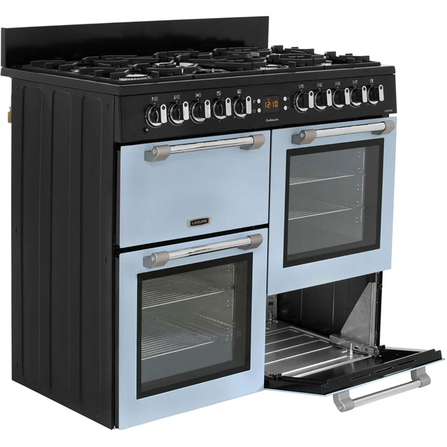 Leisure CK100F232S Cookmaster 100 100cm Dual Fuel Range Cooker - Silver - CK100F232S_SI - 5