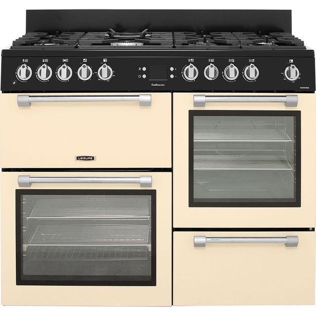 Leisure Cookmaster CK110F232C 110cm Dual Fuel Range Cooker - Cream - A/A Rated - CK110F232C_CR - 1