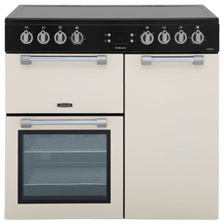 Leisure Cookmaster 90cm Electric Range Cooker with Ceramic Hob - Cream - A/A Rated