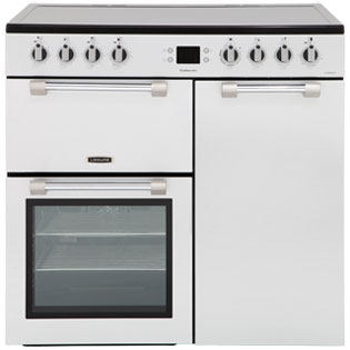 Leisure Cookmaster CK90C230S 90cm Electric Range Cooker with Ceramic Hob - Silver - A/A Rated - CK90C230S_SI - 1