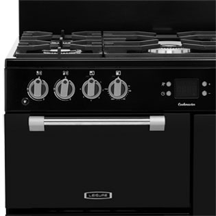 Leisure CK90F232R Cookmaster 90cm Dual Fuel Range Cooker - Red - CK90F232R_RD - 2