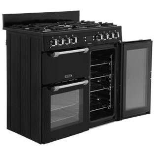 Leisure CK90F232R Cookmaster 90cm Dual Fuel Range Cooker - Red - CK90F232R_RD - 5