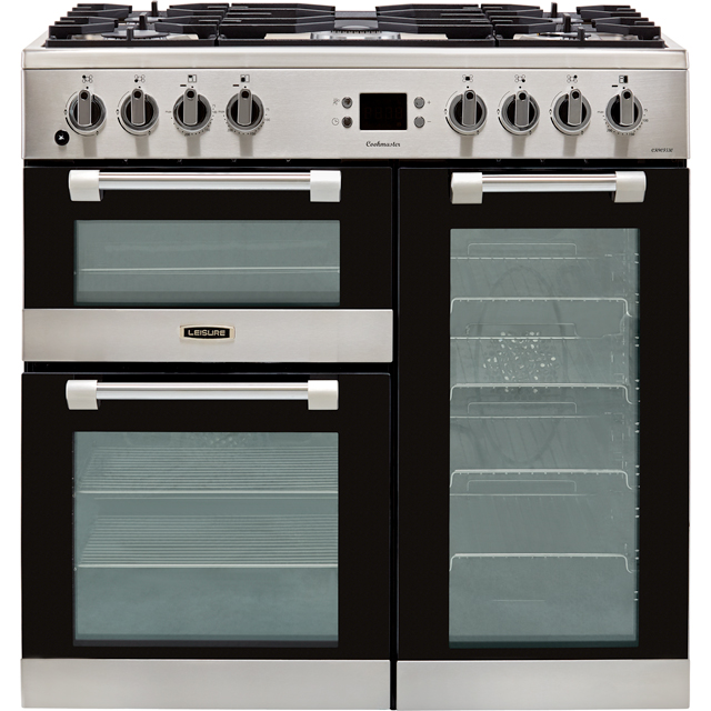 Leisure Cookmaster CK90F530X 90cm Dual Fuel Range Cooker - Stainless Steel - A/A/A Rated - CK90F530X_SS - 1