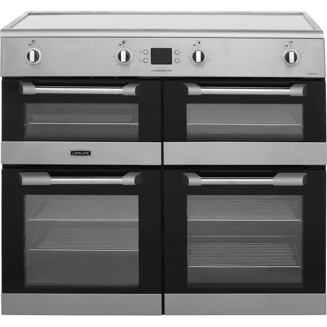 Leisure Cuisinemaster CS100D510X 100cm Electric Range Cooker with Induction Hob - Stainless Steel - A/A Rated - CS100D510X_SS - 1