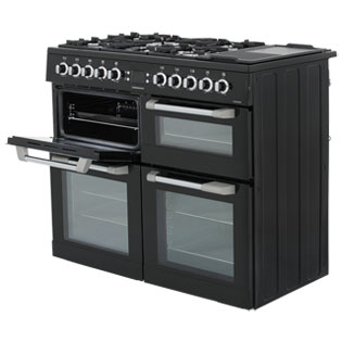 Leisure CS100F520X Cuisinemaster 100cm Dual Fuel Range Cooker - Stainless Steel - CS100F520X_SS - 2