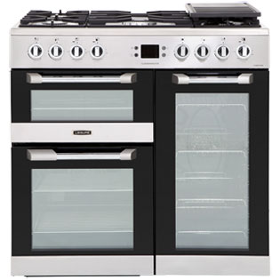 Leisure Cuisinemaster 90cm Dual Fuel Range Cooker - Stainless Steel - A/A Rated
