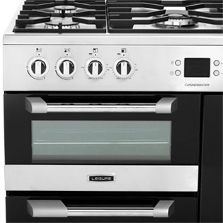 Leisure CS90F530X Cuisinemaster 90cm Dual Fuel Range Cooker - Stainless Steel - CS90F530X_SS - 2