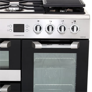 Leisure CS90F530X Cuisinemaster 90cm Dual Fuel Range Cooker - Stainless Steel - CS90F530X_SS - 3