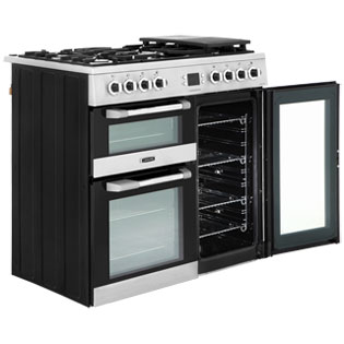 Leisure CS90F530X Cuisinemaster 90cm Dual Fuel Range Cooker - Stainless Steel - CS90F530X_SS - 5