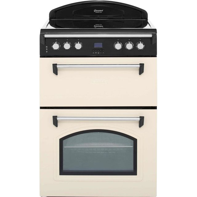 Leisure Gourmet GRB6CVC 60cm Electric Cooker with Ceramic Hob - Cream - A/A Rated - GRB6CVC_CR - 1
