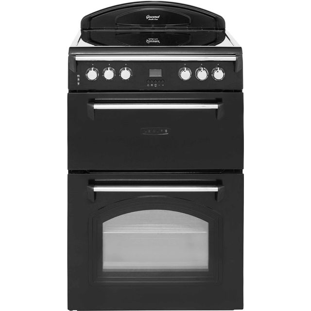 Leisure Gourmet GRB6CVK 60cm Electric Cooker with Ceramic Hob - Black - A/A Rated - GRB6CVK_BK - 1