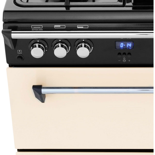 Leisure GRB6GVC Gas Cooker - Cream - GRB6GVC_CR - 5