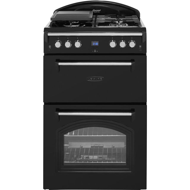 Leisure GRB6GVK Gas Cooker - Black - GRB6GVK_BK - 1
