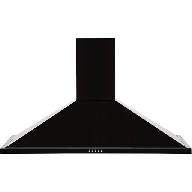 Leisure H102PK Built In Chimney Cooker Hood - Black - H102PK_BK - 1