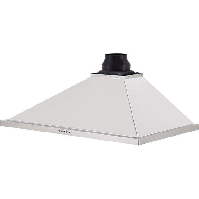 Leisure H92PK Built In Chimney Cooker Hood - Black - H92PK_BK - 4