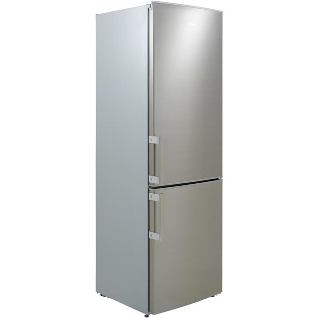 Leisure LCNP1685PX 60/40 Frost Free Fridge Freezer - Brushed Steel - A+ Rated Best Price, Cheapest Prices