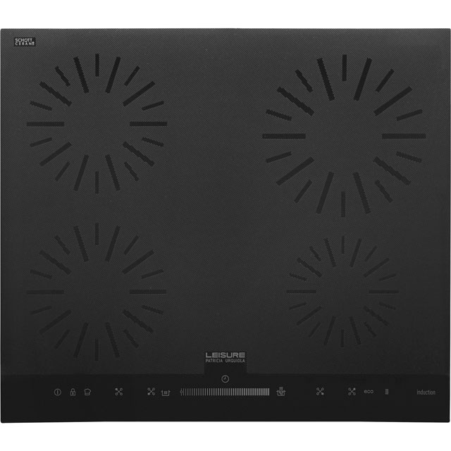 Leisure Patricia Urquiola PHIPI64500HT 58cm Induction Hob - Black