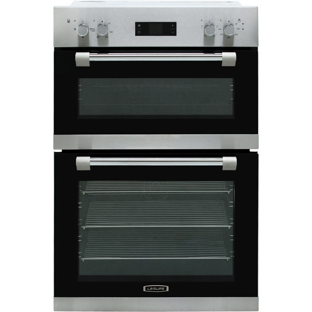 Leisure PODM52300X Built In Double Oven - Stainless Steel - A/A Rated