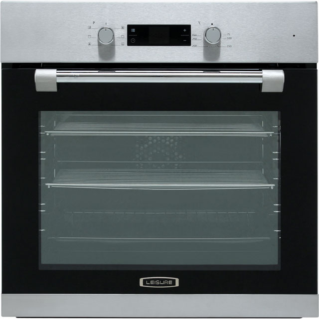 Leisure POIM52300X Built In Electric Single Oven - Stainless Steel - A Rated - POIM52300X_SS - 1