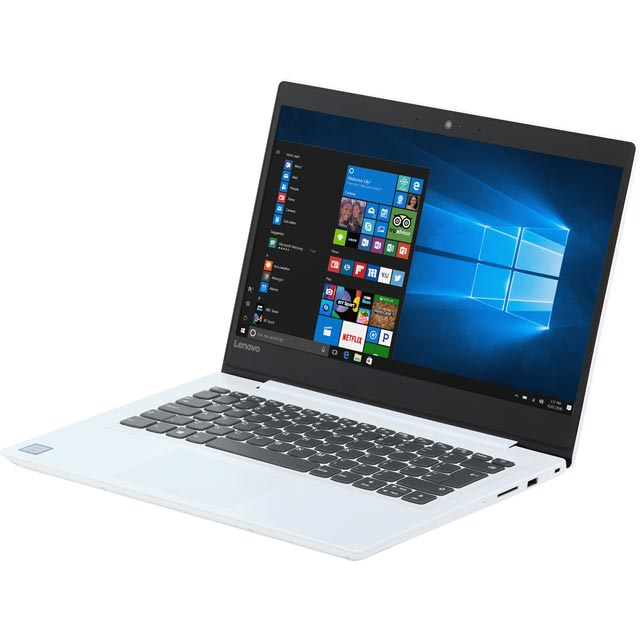 "Lenovo IdeaPad 320S 14"" Laptop - Snow White - 80X4002SUK - 1"