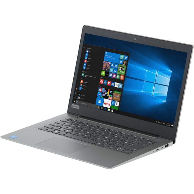 "Lenovo 14"" Cloudbook Laptop - Mineral Grey - 81A500HTUK - 1"