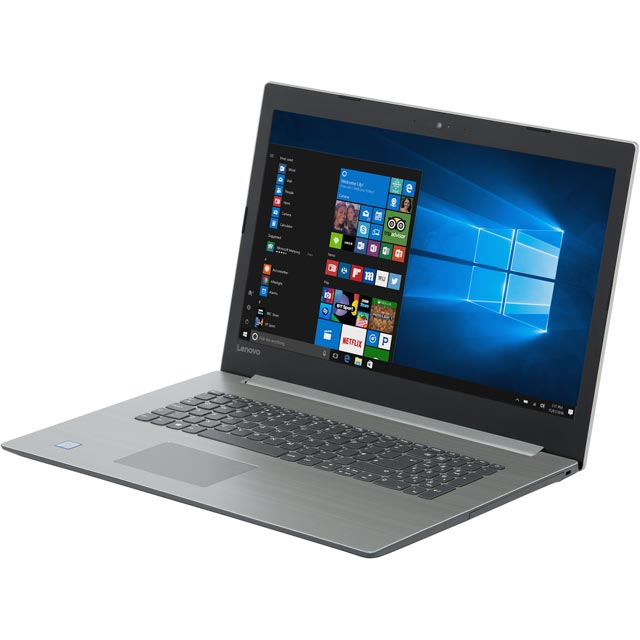 "Lenovo Ideapad 330 17.3"" Laptop - Platinum Grey - 81DM0044UK - 1"