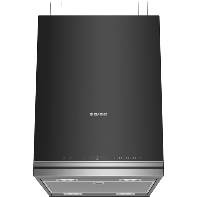 Siemens IQ-700 LF31IVV60 Wifi Connected 37 cm Island Cooker Hood - Black - LF31IVV60_BK - 1