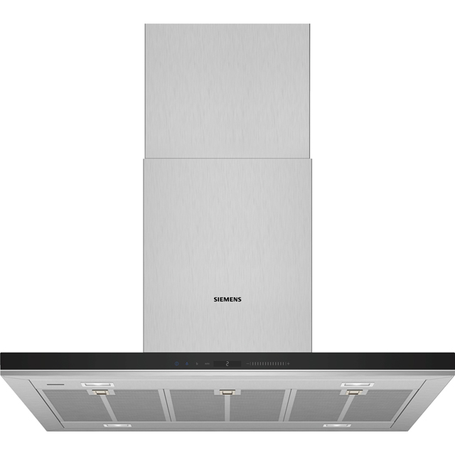 Siemens IQ-700 LF91BUV50B Wifi Connected 90 cm Chimney Cooker Hood - Stainless Steel - A+ Rated - LF91BUV50B_SS - 1