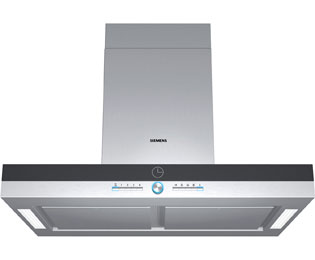 Siemens IQ-700 90 cm Island Cooker Hood - Stainless Steel - C Rated