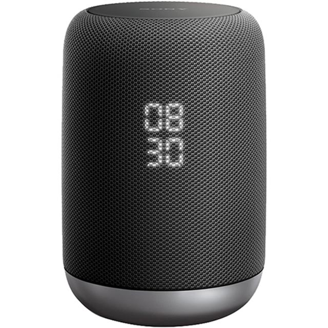 Sony LFS50G Smart Portable Bluetooth Wireless Speaker with Google Assistant - Black