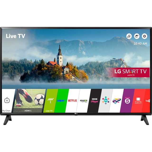LG 49LJ594V Led Tv in Black