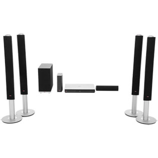 LG BH9540TW 9.1 Surround Smart 3D Home Cinema System - Black / Silver