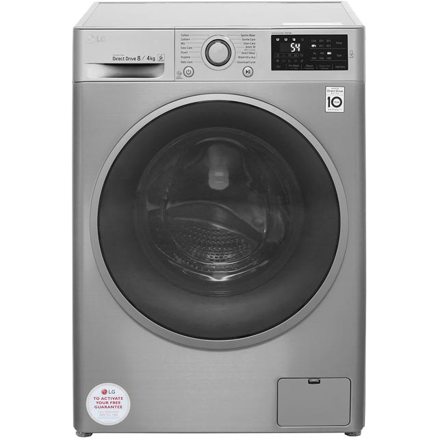 LG Direct Drive F4J6AM8S 8Kg / 4Kg Washer Dryer with 1400 rpm - A Rated