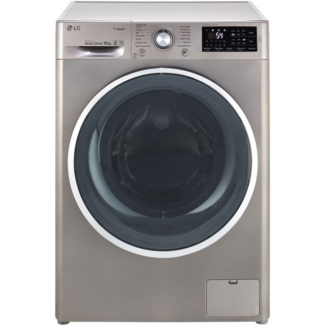 LG Steam™ F4J6JY2S 10Kg Washing Machine with 1400 rpm - Graphite - A+++ Rated - F4J6JY2S_GH - 1