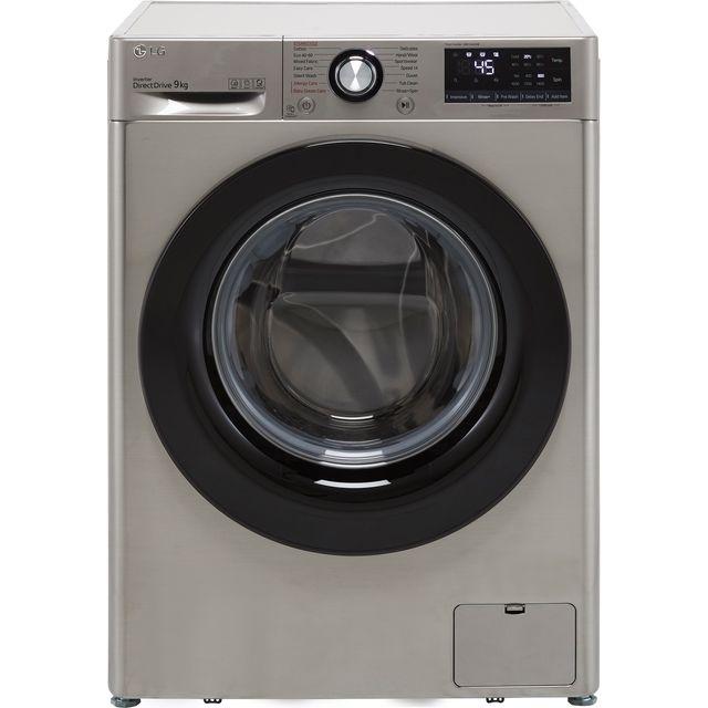 LG V3 F4V309SSE 9Kg Washing Machine with 1400 rpm - Graphite - B Rated